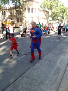 Father's Day 2013 Super Hero Run in Sacramento, California