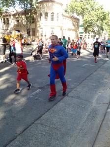 Father's Day 2013 Super Hero Run in Sacramento, California