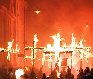 Lewes Bonfire, Martyrs Crosses/Andrew Dunn