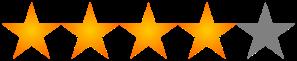 4-5 Stars by Estoy Acqui