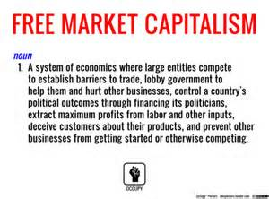 free market occupy